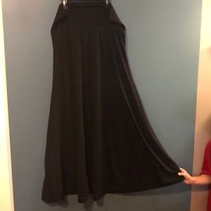 Lularoe Black maxi skirt **